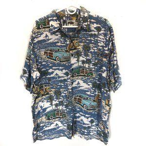Reyn Spooner Woody Shirt Size XL